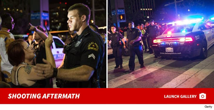 Dallas Protest Shooting -- The Aftermath