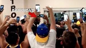 Draymond Green -- Gets 'MVP' Chant ... While Leaving Bathroom (VIDEO)