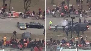 Kansas City Chiefs Super Bowl Parade, Car Chase Ends In PIT Maneuver