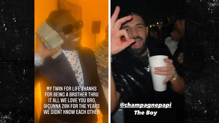 Drake, Future Party with Gunna at His Celeb-Packed 28th Birthday Bash.jpg