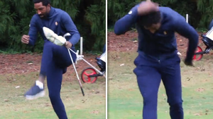 J.R. Smith Steps In Beehive, Requires Medical Attention In 1st College Golf Tourney