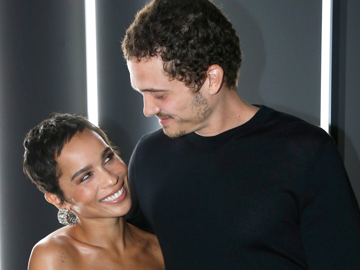 Zoe Kravitz and Karl Glusman -- Happier Times