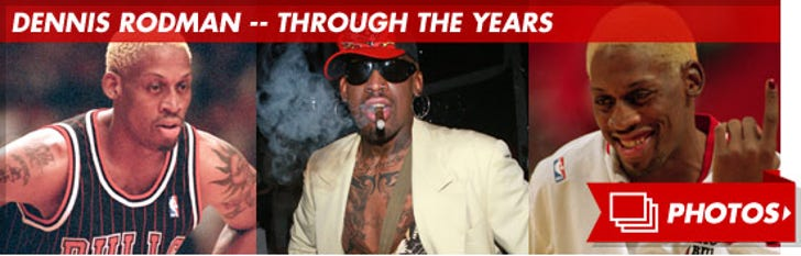 Dennis Rodman -- Through the Years