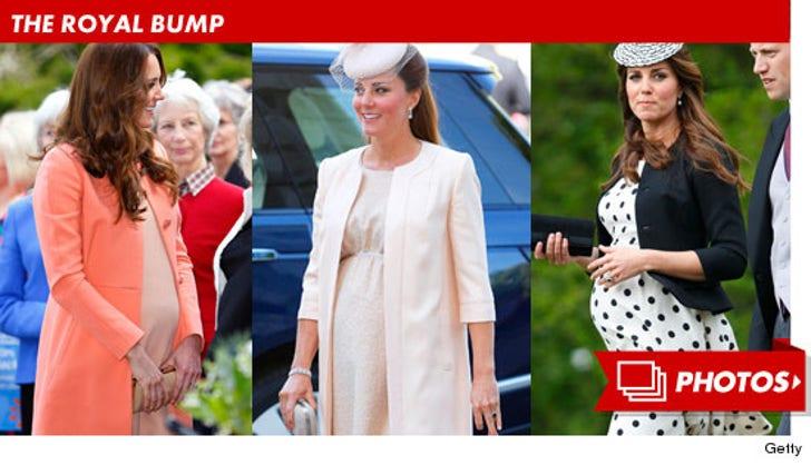 Kate Middleton -- The Royal Bump