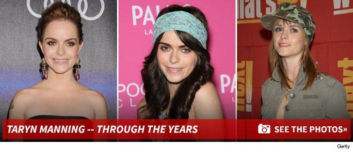 Taryn Manning -- Through The Years