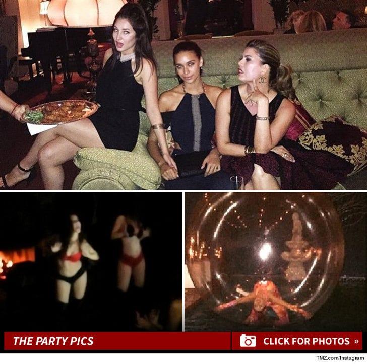 Robin Thicke -- Birthday Party Pics