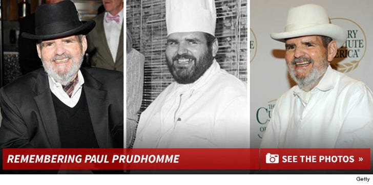 Remembering Paul Prudhomme