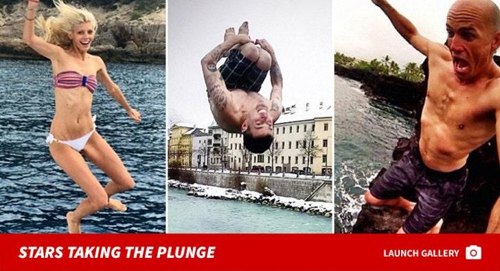 Stars Taking the Plunge -- Epic Free Falls!