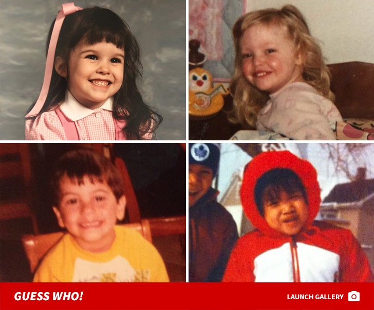'Mean Girls' Cast Throwbacks -- Guess Who!