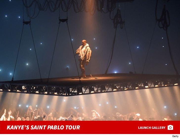 Kanye West's Saint Pablo Tour