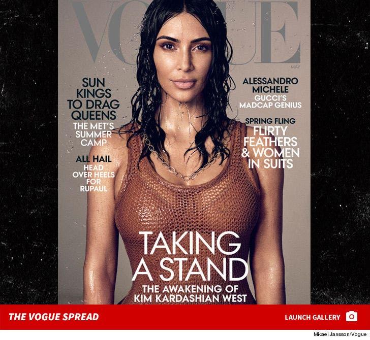 Kim Kardashian's May Vogue Spread