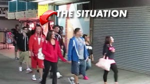 The Situation -- No Drinks for Him!