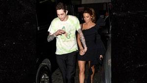 Pete Davidson & Kate Beckinsale Make Out After Motley Crue Biopic Premiere
