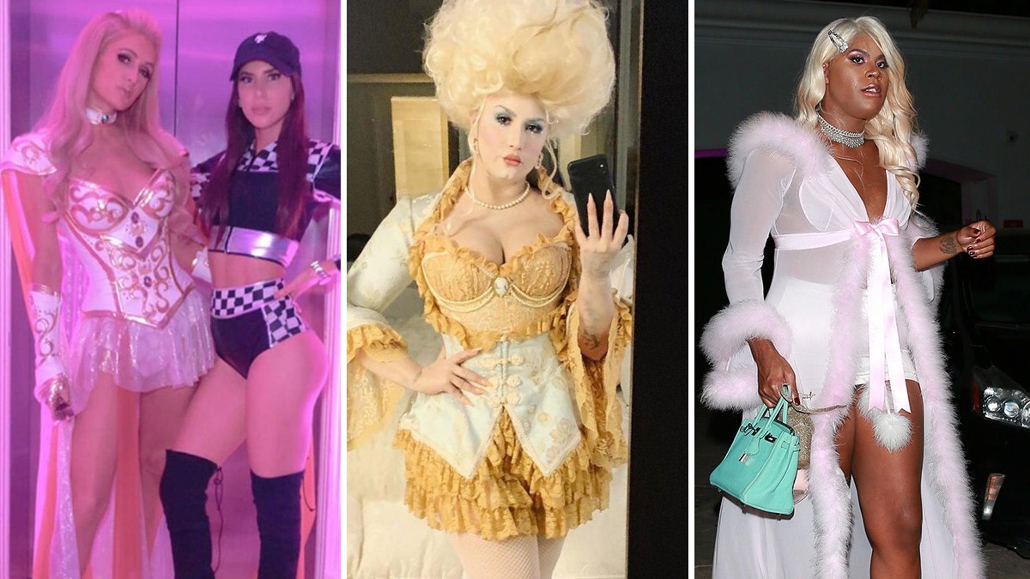 Halloween Party Chicago 2020 Hilton Hollywood Halloween Parties Kick Off with Paris Hilton Bash