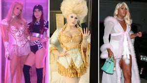 Hollywood Halloween Parties Kick Off with Paris Hilton Bash