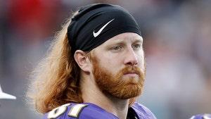 NFL's Hayden Hurst Says He Cut His Wrist In Battle W/ Depression In College
