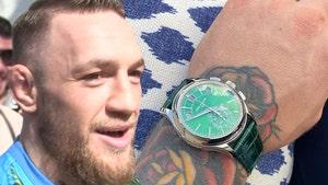 Conor McGregor Cops Ultra Rare Diamond Watch, '#TheHulk'