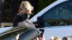 Ellen DeGeneres Flirts with Portia in Porsche During Dinner Run
