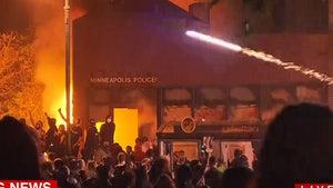 Rioters Set Minneapolis Police Station on Fire Over George Floyd Killing