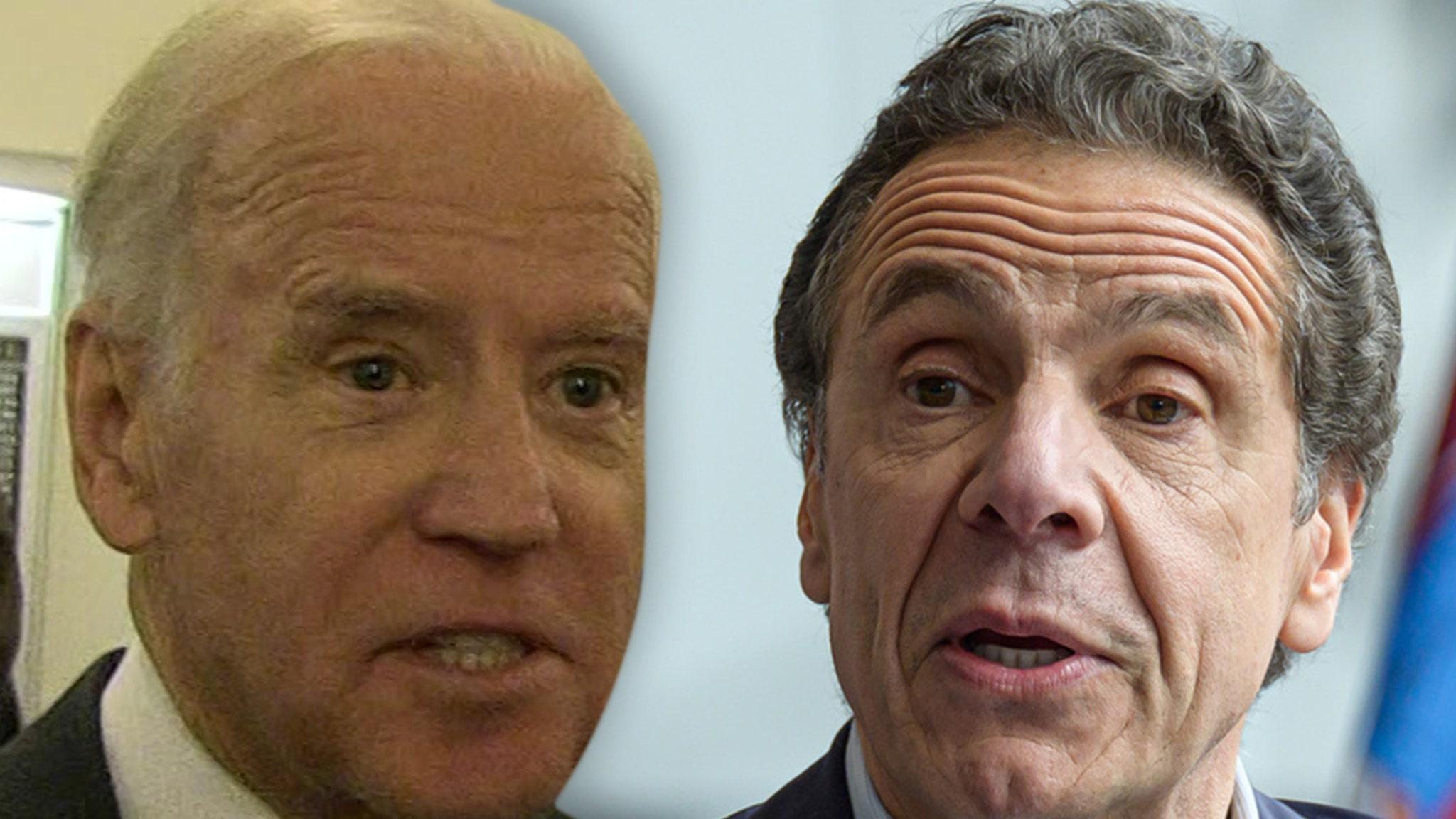 Andrew Cuomo Denies Harassment Allegations, Biden Calls for Resignation thumbnail