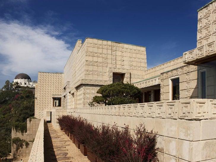Frank Lloyd Wright's Ennis House -- Sells for $18 Million