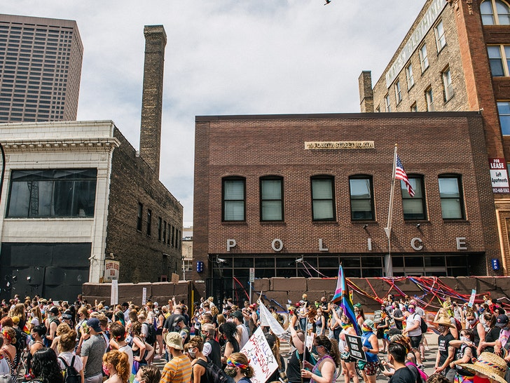 Black Lives Matter/Pride March in Minneapolis