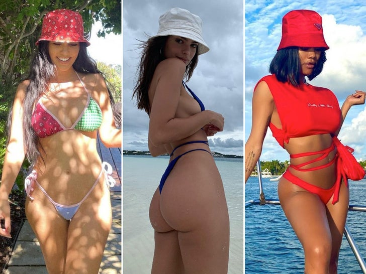 Summer Babes In Bucket Hats -- Pail In Comparison!