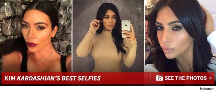 Kim Kardashian's Best Selfies