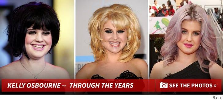 Kelly Osbourne -- Through the Years