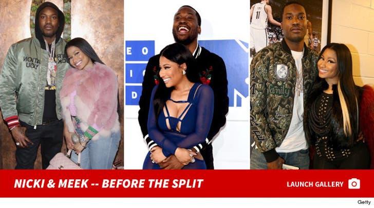 Meek Mill and Nicki Minaj -- Before the Split