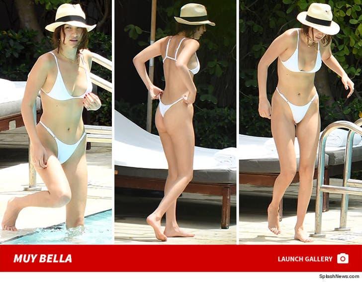 Bella Hadid in Miami