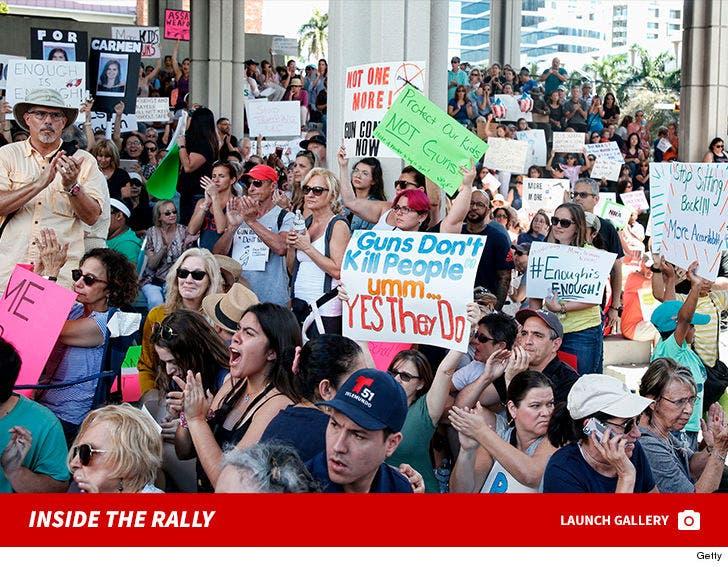 Inside The Florida Gun Control Rally