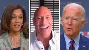 Dwayne The Rock Johnson Endorses Joe Biden and Kamala Harris