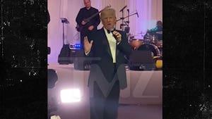 Donald Trump Rails on Biden During Wedding Speech at Mar-a-Lago