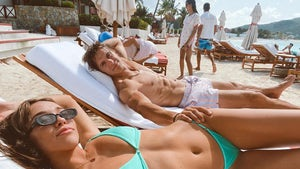 Sophia Culpo And NFL BF Braxton Berrios Show Off Shredded Beach Bods On Baecation