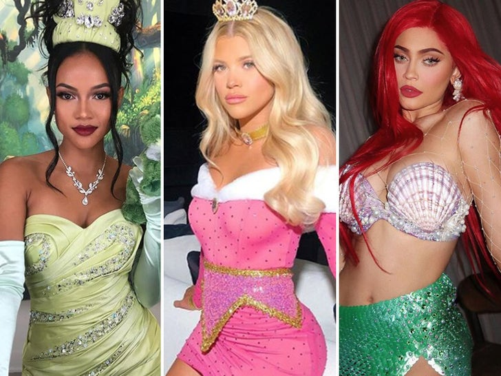 Disney Princess Celebrities