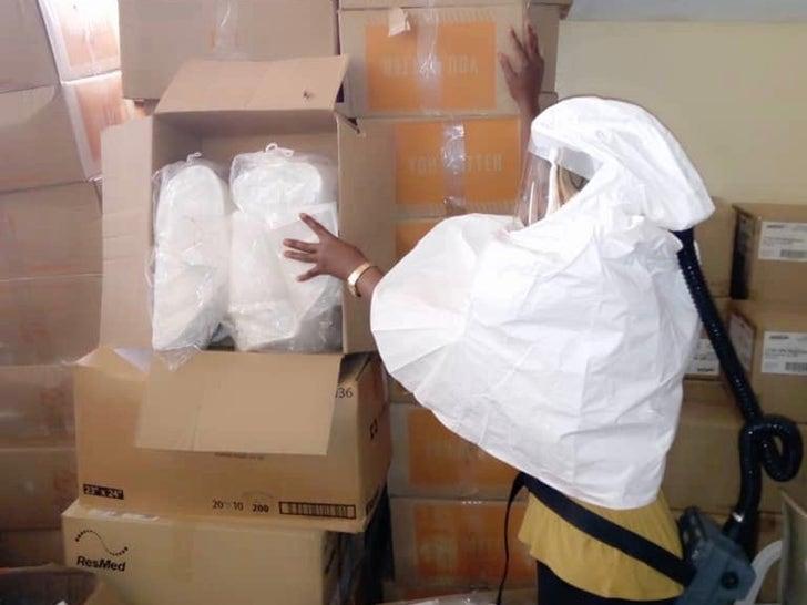 Bismack Biyombo's Supplies Donations