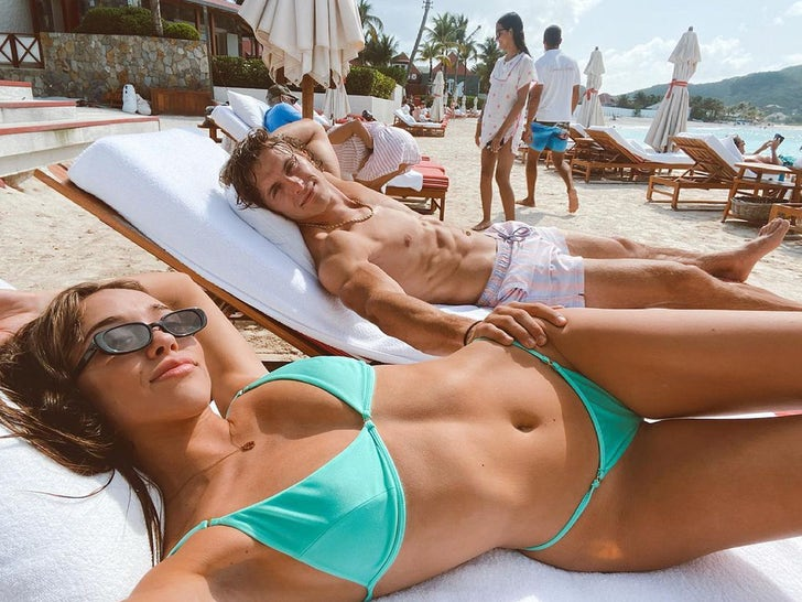 Culpo Sisters' Baecation In St. Barts