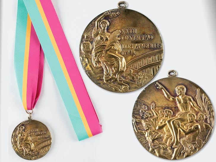 Olympics Medals and Memorabilia Up For Auction