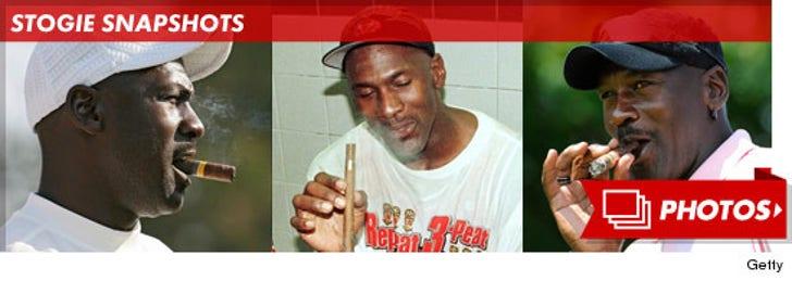 Michael Jordan -- Stogie Snapshots