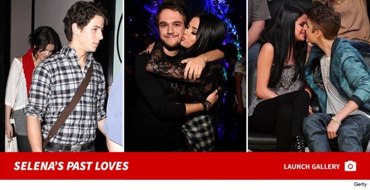 Selena Gomez's Past Loves