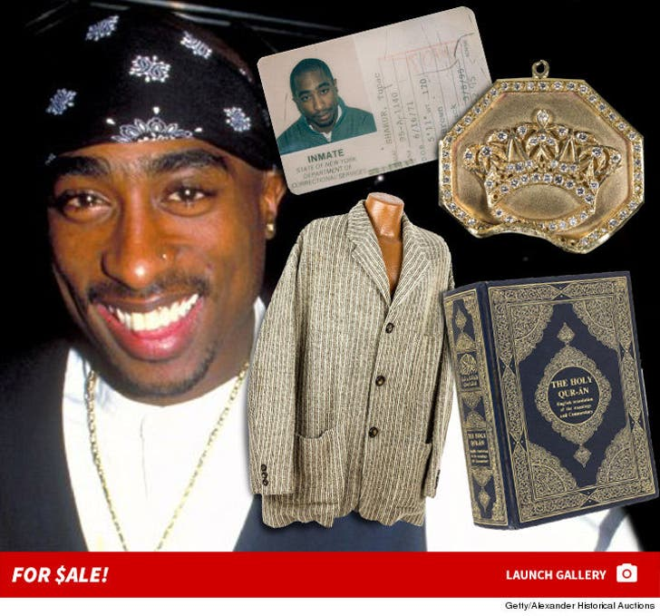Tupac's Auction Items