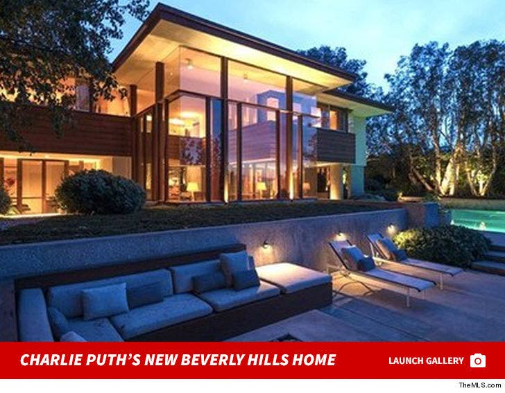 Charlie Puth's New Beverly Hills Home