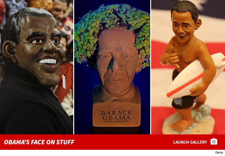 Obama's Face on Stuff