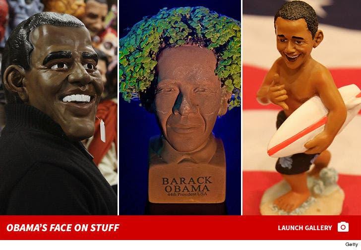 Obama's Face on Stuff
