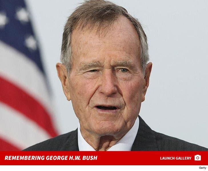 George H.W. Bush -- Through the Years