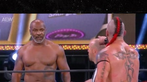 Mike Tyson Makes Guest Wrestling Appearance at AEW Pay-Per-View