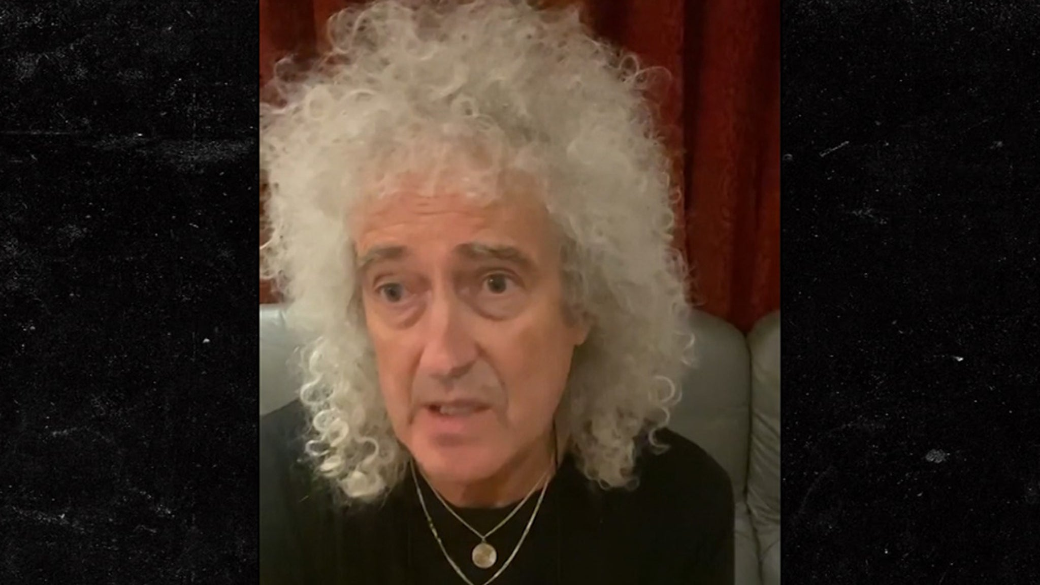 Queen's Brian May Suffers Near-Fatal Heart Attack ... On Top of Nerve Damage!!!