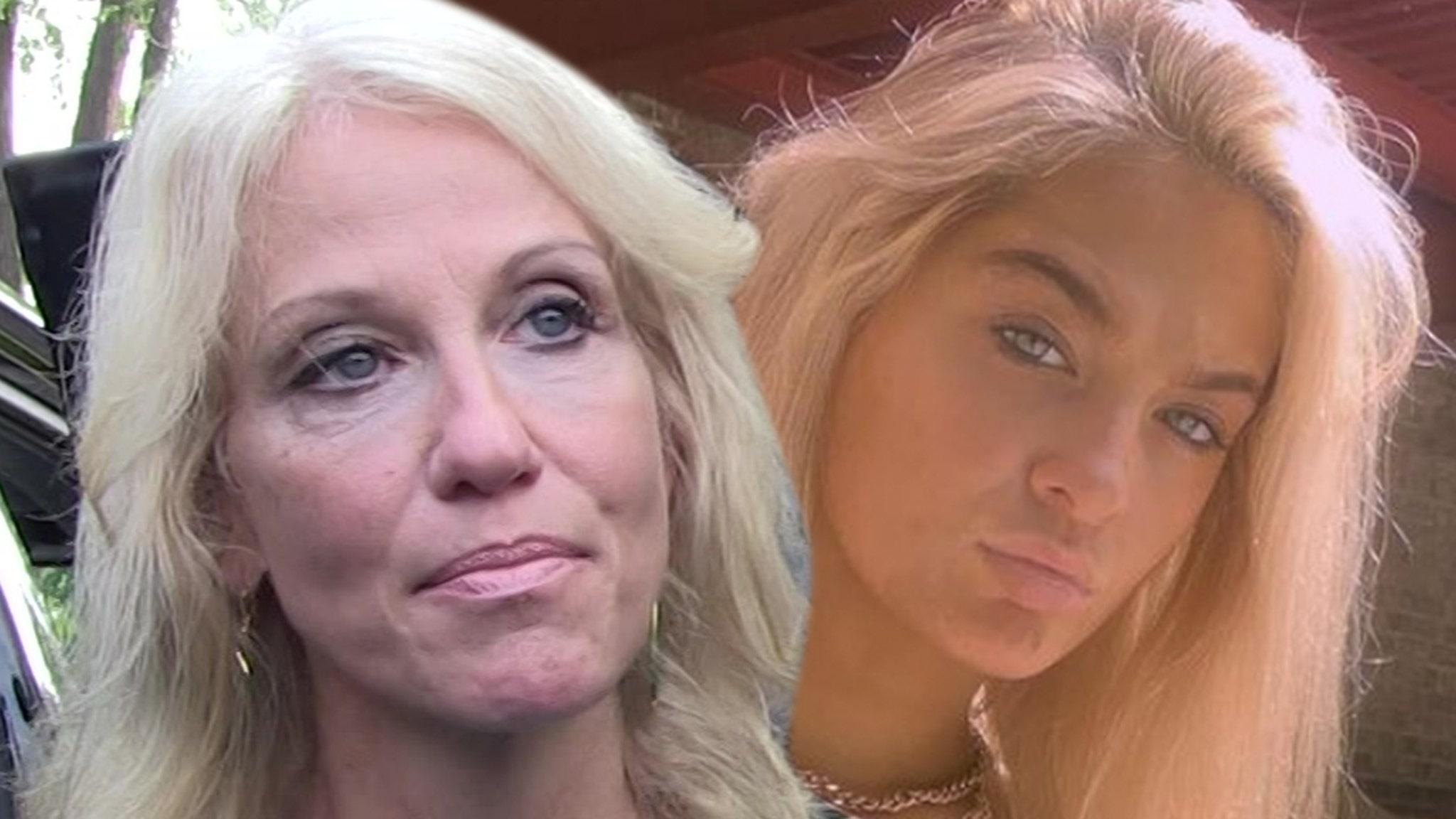 Копы расследуют кричащий матч между Келлианн Конвей и дочерью Клаудией