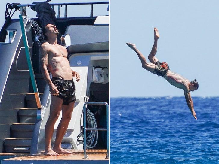 Zlatan Ibrahimovic in Saint Tropez -- Yachts Of Fun!